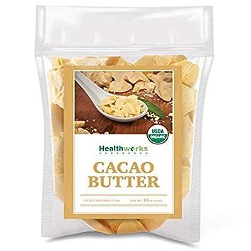 Amazon.com : Manteca De Cacao Pura Organica Sin Refinar ...