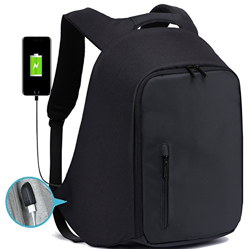 Business Laptop Backpack, Anti Theft Backpack with USB Charg