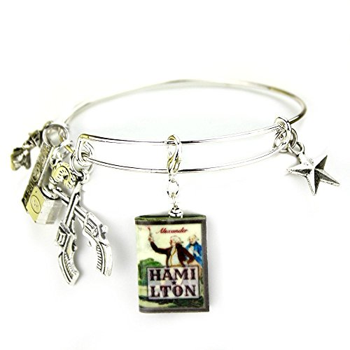 HAMILTON Mini Book Expandable Bangle Bracelet