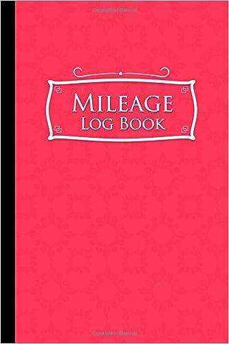 amazon com mileage log book mileage counter for car mileage