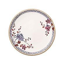 Villeroy & Boch Artesano Provençal Lavendel - Floral Plato llano, 27 cm, porcelana premium, color blanco/colorido