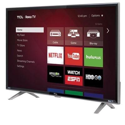 """PC Hardware : 40"""""""" 1080p 120Hz Smart LED Roku Consumer Electronics"""