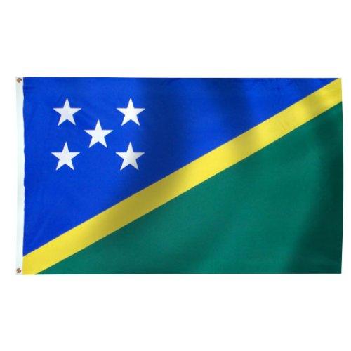 - Solomon Islands Flag 6X10 Foot Nylon