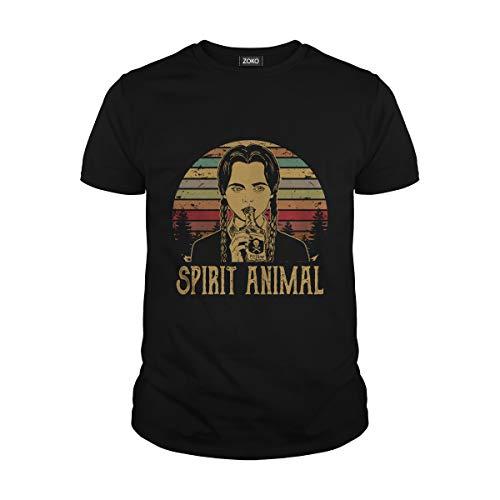 Men's Spirit Animal T-Shirt (L, Black) -
