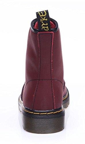 uBeauty Stivali Moda Velluto Stivali da Classici Stivaletti Scarpe Donna Stivali Martin Donna Rosso rrqFY