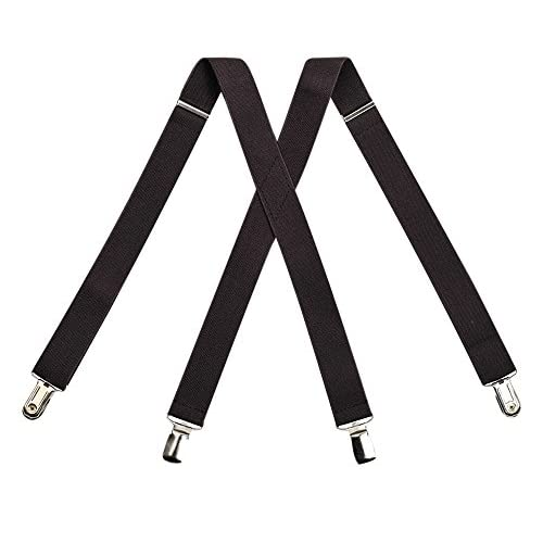 hot sell Kat Cheung Bahar Nice Boys Baby 4 Clips Dark Brown Suspenders Kids X-Back Elastic Braces Adjustable Fashion Suspenders Baby Boys Wedding Party