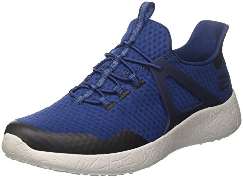 Shinz Herren Skechers Blau Sneaker Nvy Burst 4OCxxAwEq