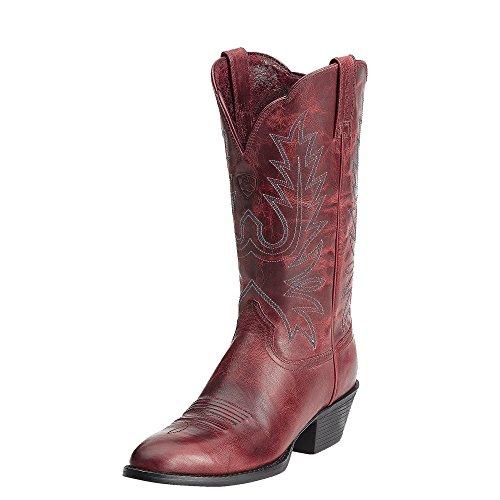 Ariat Western Boots Womens Cowboy Heritage Dist Brown