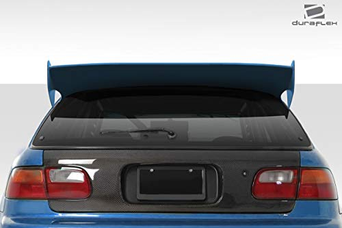 Duraflex Replacement for 1992-1995 Honda Civic HB RBS Wing Spoiler - 3 ()