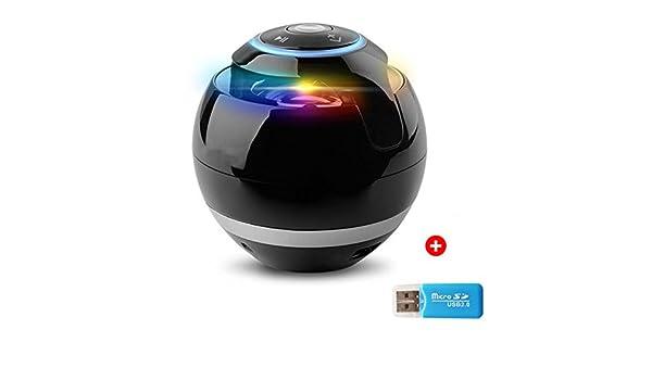 Bluetooth Mini altavoz boombox receptor FM Radio portátil Caixa de som amplificador MP3 Subwoofer con micrófono altavoz: Amazon.es: Electrónica