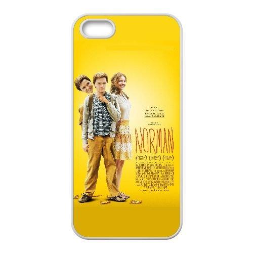 D0W65 Norman Haute Résolution Affiche W8U4IN coque iPhone 5 5s cellule de cas de téléphone couvercle coque blanche DI7FGB6WX