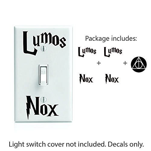Lumos Nox inspired 2x Light Switch and Bonus 2