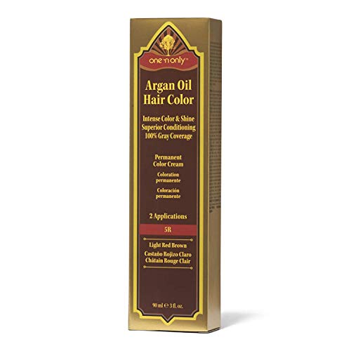 One 'n Only 5R Light Red Brown Permanent Hair Color Cream 5R Light Red Brown
