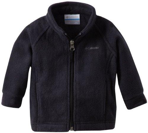 Columbia Baby Girls' Benton Springs Fleece Jacket, Black, 18-24 Months (Fleece Coat Baby Fleece)