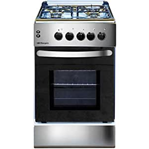 Orbegozo CH 5006 AI GB - Cocina (Independiente, Gas, electric induction, esmalte de acero, Acero inoxidable, Giratorio, Frente)