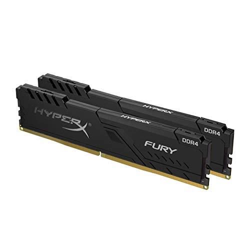 Hyperx Fury Hx432C16Fb3K2/16 Ddr4 (Kit 2X8Gb) 16Gb 3200Mhzcl15 Dimm 1Rx8, Zwart
