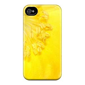 New Shockproof Protection Case Cover For Iphone 4/4s/ Yellow Beauty907 Case Cover
