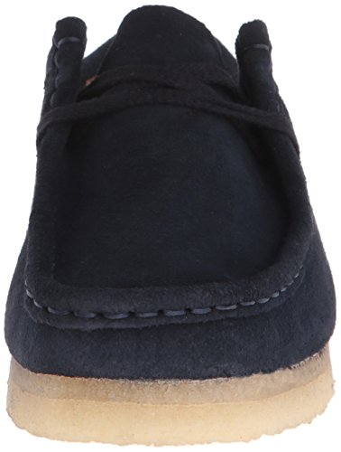Navy Beeswax M Boot Chukka 5 Suede Women's Wallabee Leather Clarks US UqzfRR