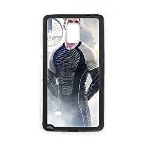 The Hunger Games Catching Fire Gloss Samsung Galaxy Note 4 Cell Phone Case Black DIY GIFT pp001_8974612