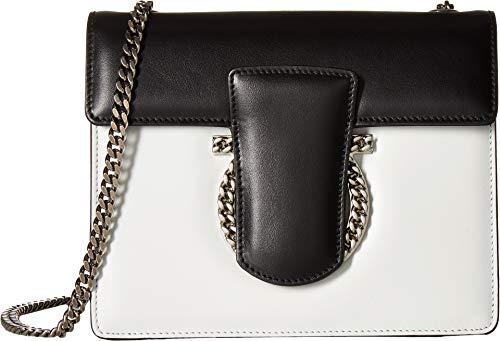 Salvatore Ferragamo Women's Thalia Small Shoulder Bag, New Bianco, One ()