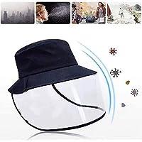 Sombrero extraíble transparente a prueba de polvo sombrero
