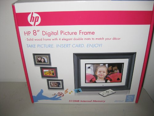 HP 8″ Digital Picture Frame df820a2