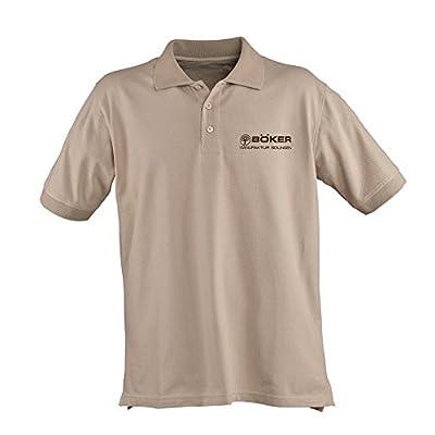 BOKER TREE BRAND 5.11 Desert Tan Cotton Large Polo Shirt