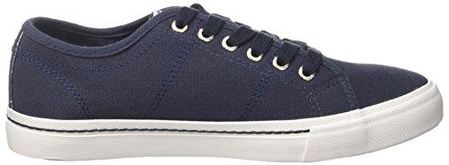 Deep Canvas Damen Sneaker Niedrige Tacchini Sergio Capri Blau xS0n51twqZ