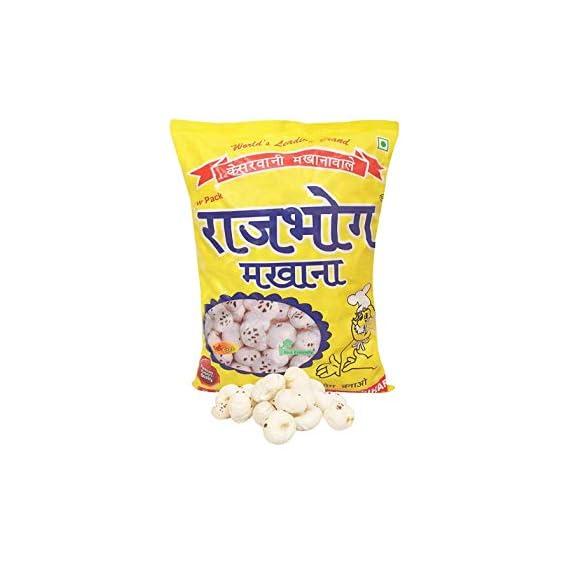 Rajbhog makhana 250 gm Lotus Seeds pop/phool makhana