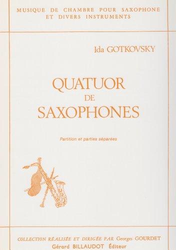 Quatuor de Saxophones by Ida Gotkovsky by Ida Gotkovsky