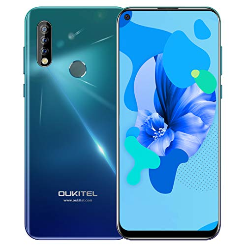 Unlocked Smartphone OUKITEL C17 Pro with Triple Camera, 6.35 Inch HD+ Full Screen, 64GB + 4GB RAM, Global 4G LTE Cell…
