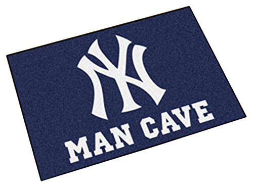 Fanmats 22443 Mlb-New York Yankees Man Cave Starter Rug by Fanmats (Image #1)