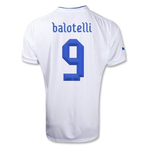 Puma Balotelli # 9 Italy Away Jersey 2012 / 2013 B008CGY6K4XL