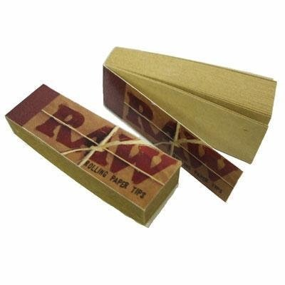 500-RAW-Rolling-Papers-Filter-Tips-10-Booklets-of-50-Standard-Size-Vegan-Beamer-Smoke-Sticker