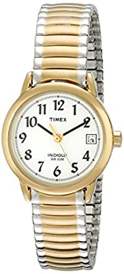 Timex Women's Easy Reader Two Tone Expansion Band Watch from Timex