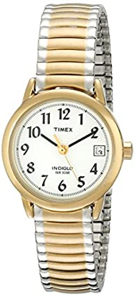 Timex Women's T2H381 Easy Reader Two-Tone Watch with Expansion Band