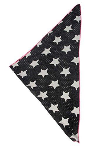 dreieckstuch mit kaschmir hochwertiger schal mit stern punkt muster fr damen und mdchen xxl hals tuch - Muster Fur Dreieckstuch