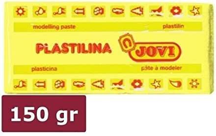 Plastilina JOVI 71 150 gr. Amarillo Claro, Caja x15: Amazon.es: Oficina y papelería