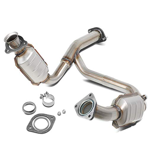 OE Style Catalytic Converter Exhaust Y-Pipe Replaces for Avalanche Silverado Suburban Sierra 4.8L 5.3L 6.0L 07-09
