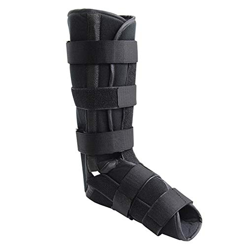 Ozzptuu Foot Ankle Brace/Foot Support/Ankle Foot Brace Boot/Night Stabilizer Walker Fracture Boot for Foot Injury,Ankle Sprains Recovery,Fixed Sprain (M)