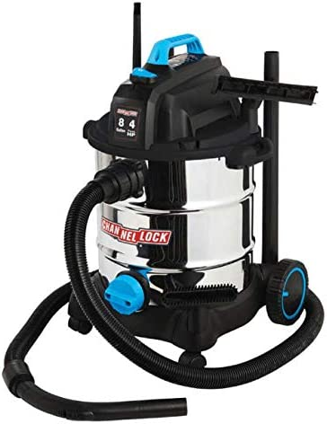 Channellock 8 Gallon S.S. Wet and Dry Vac, 8GAL 4.0HP WET DRY VAC