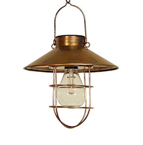 Echo Valley 4522 LunaLite Marine Pendant Edison Lantern, Copper