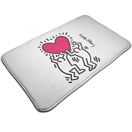 Copripiumino Keith Haring.Teijweteijt Keith Haring Zerbino Antiscivolo Per Ingresso Per