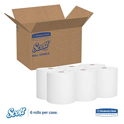 Scott Essential High Capacity Hard Roll Towel, 1.75