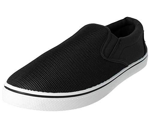 espadrillas da nei scarpe da black a casual al mocassino abbinare da dal uomo disponibili antiscivolo Scarpe numeri Black 47 ideali 5 40 ideali all'abbigliamento modello ginnastica TpFtwxX