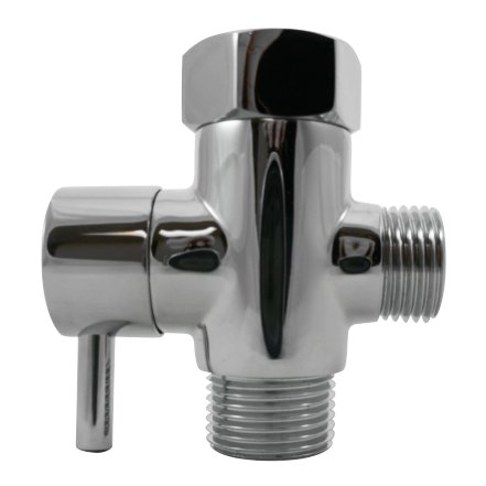 t-adapter for shut off valve