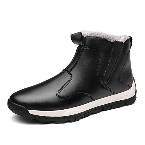 ARKE Men's Warm Winter Shoe Snow Boot Ankle Sneakers High Top Fashion Sneaker (Churrasco Grill)