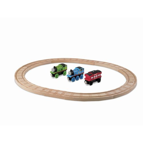 Thomas and Friends Wooden Railway Starter Set (Starter Set Train Thomas)