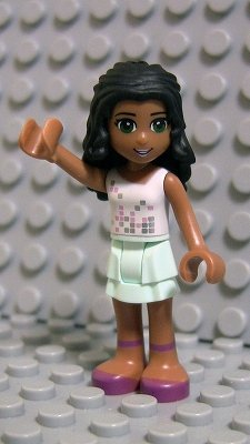 LEGO Friends - Minifigure Chloe from Year 2013 - x1 Loose - Sand Mad Cat