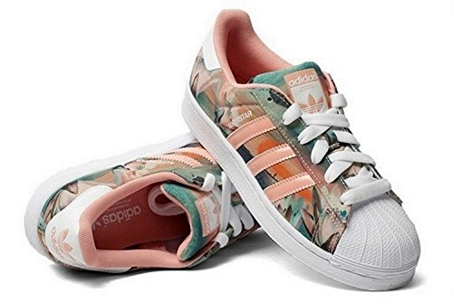 Adidas Originals Women's Superstar W Fashion Sneaker Size US 6